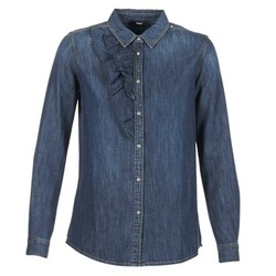 Clothing Women Shirts Diesel DE KELLY Blue