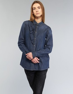 Clothing Women Shirts Diesel DE KELLY Blue