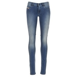 Clothing Women slim jeans Diesel LIVIER Blue