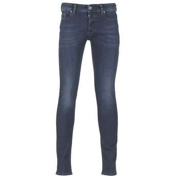 Clothing Men slim jeans Diesel SLEENKER Blue / 0845e