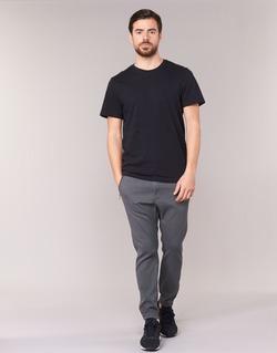 Clothing Men 5-pocket trousers Diesel P BLACK Grey