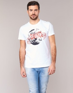 Clothing Men short-sleeved t-shirts Diesel T DIEGO NC White