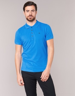 Clothing Men short-sleeved polo shirts Diesel T HEAL Blue