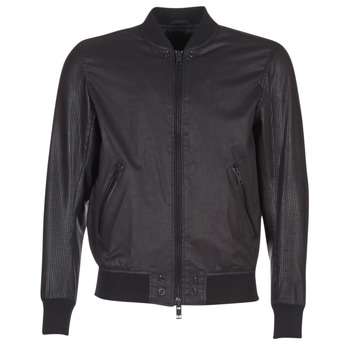 Clothing Men Leather jackets / Imitation leather Diesel L POWELL Black