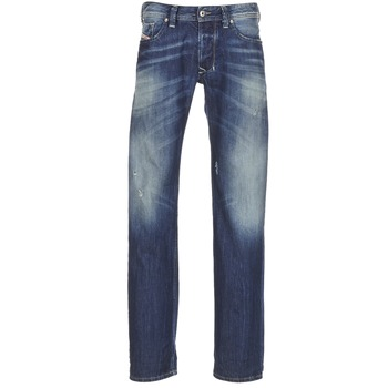 Clothing Men straight jeans Diesel LARKEE Blue