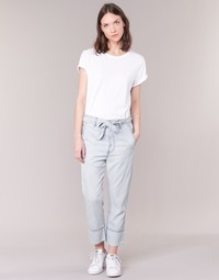 Clothing Women Wide leg / Harem trousers Diesel DE JAMA Blue