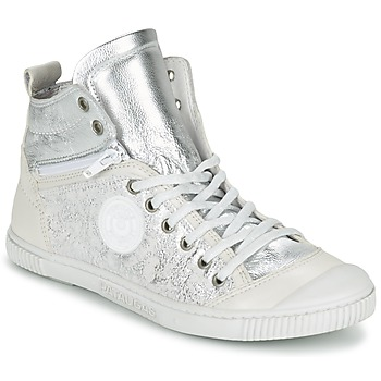 Shoes Women Hi top trainers Pataugas BANJOU/MT F2C Silver
