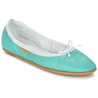 Shoes Women Flat shoes Pataugas SANOK F2C Turquoise