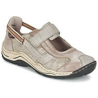 Shoes Women Low top trainers Rieker BIOLORATEIL TAUPE