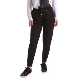 Clothing Women 5-pocket trousers Animagemella 17AI101 Trousers Women Black Black