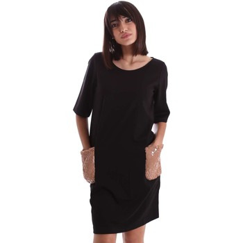 Clothing Women Short Dresses Gazel AB.AB.MC.0060 Dress Women Black Black
