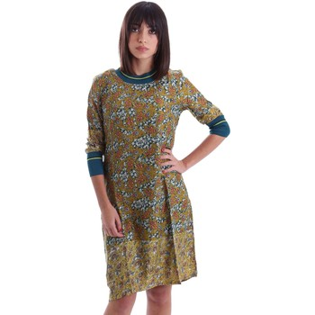 Clothing Women Short Dresses Gazel AB.AB.S3.0031 Dress Women Green Green