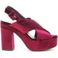 Shoes Women Sandals Grace Shoes ROMA09F9 High heeled sandals Women Bordeaux Bordeaux
