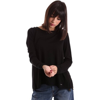 Clothing Women Jackets / Cardigans Gaudi 64FD50251 T-shirt Women Black Black