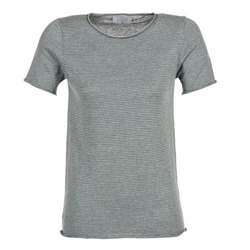 Clothing Women short-sleeved t-shirts Casual Attitude GENIUS Grey