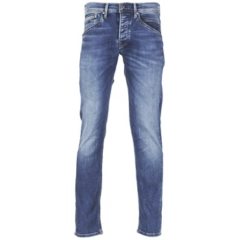 Clothing Men straight jeans Pepe jeans TRACK Blue