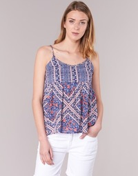 Clothing Women Tops / Blouses Pepe jeans MERY Blue / Pink