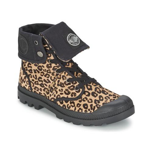 Shoes Women Mid boots Palladium BAGGY Leopard
