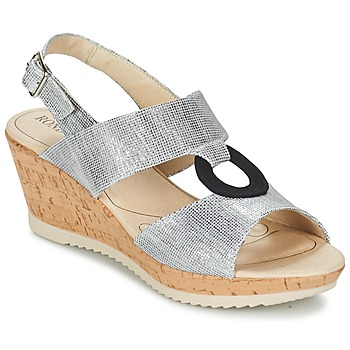 Shoes Women Sandals Rondinaud REPPE Grey
