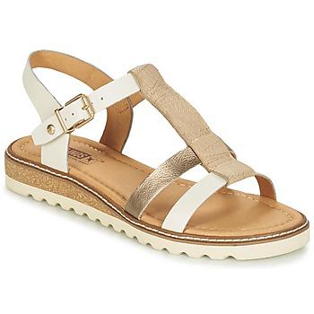 Shoes Women Sandals Pikolinos ALCUDIA W1L Silver