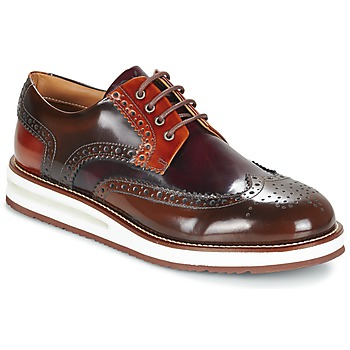 Shoes Men Derby Shoes Barleycorn AIR BROGUE Red