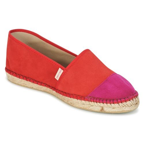 Shoes Women Espadrilles Pare Gabia VP PREMIUM Red / Pink