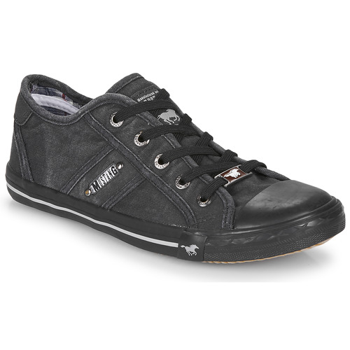 Shoes Women Low top trainers Mustang RUGARL Graphite