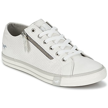 Shoes Women Low top trainers Mustang RADU White