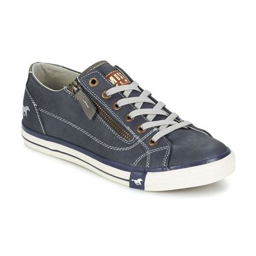 Shoes Women Low top trainers Mustang RAD Marine