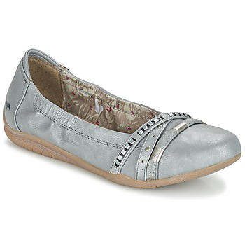Shoes Women Flat shoes Mustang CRICA Grey