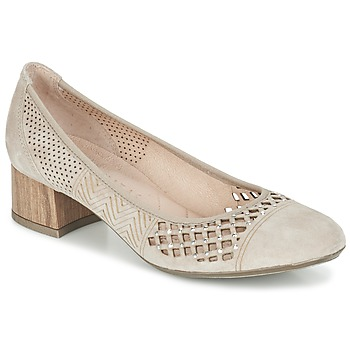 Shoes Women Heels Hispanitas DOUGA Creme