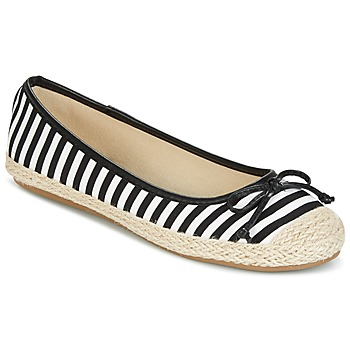 Shoes Women Flat shoes Wildflower Luck Black / White