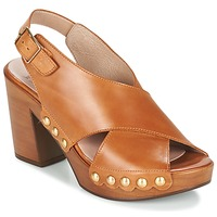 Shoes Women Sandals Wonders DOUSC COGNAC
