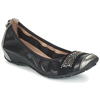 Shoes Women Flat shoes Mam'Zelle FADILA Black / Silver