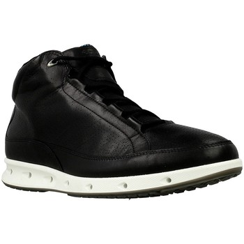 Shoes Men Hi top trainers Ecco Mid Cut Black