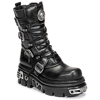 Shoes Mid boots New Rock NEMESIS Black