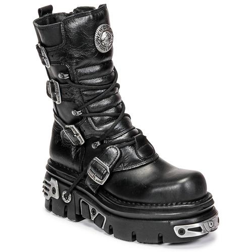 Shoes Mid boots New Rock NEMESIS Black