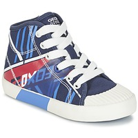 Shoes Boy Hi top trainers Geox J KIWI B. E MARINE