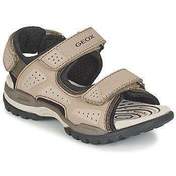 Shoes Boy Outdoor sandals Geox J BOREALIS B. B Sable