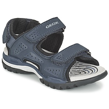Shoes Boy Outdoor sandals Geox J BOREALIS B. B MARINE