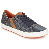 Shoes Boy Low top trainers Geox J ALONISSO B. A MARINE / Brown