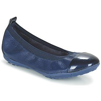 Shoes Girl Flat shoes Geox J PIUMA BALL B Marine