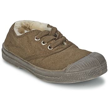 Shoes Children Low top trainers Bensimon TENNIS FOURREES BEIGE