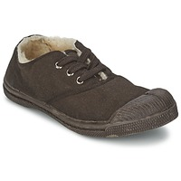 Shoes Children Low top trainers Bensimon TENNIS FOURREES CHOCOLATE