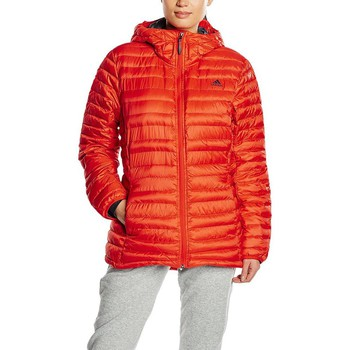 Clothing Women Duffel coats adidas Originals Climaheat Frostlight Red