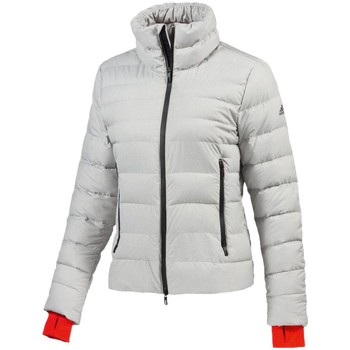 Clothing Women Duffel coats adidas Originals Premium Climaheat White