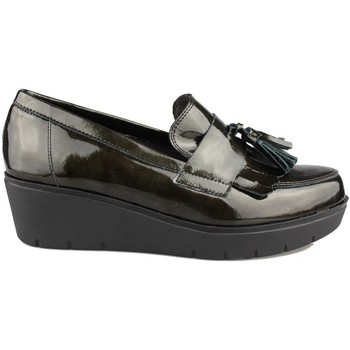 Shoes Women Loafers Kroc MOCASIN CON CUÑA VERDE