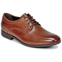 Shoes Men Derby Shoes Rockport SC PLAIN TOE Brown