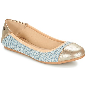 Shoes Women Flat shoes Kaporal BLAIR Blue / Gold