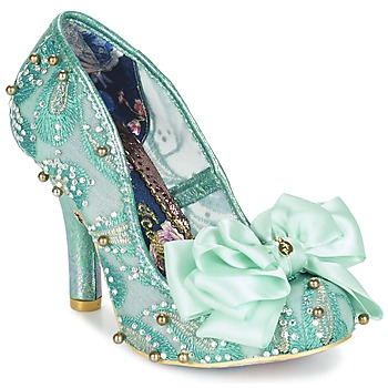 Shoes Women Heels Irregular Choice ASCOT Mint / White / Pink / Pu